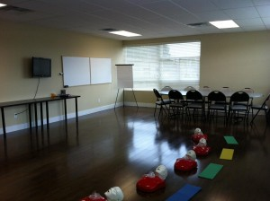 First Aid and CPR Classroom in Vancouver